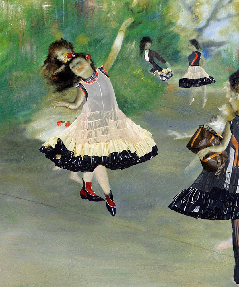 Edgar Degas, Dancers (in Louis Vuitton), 1878