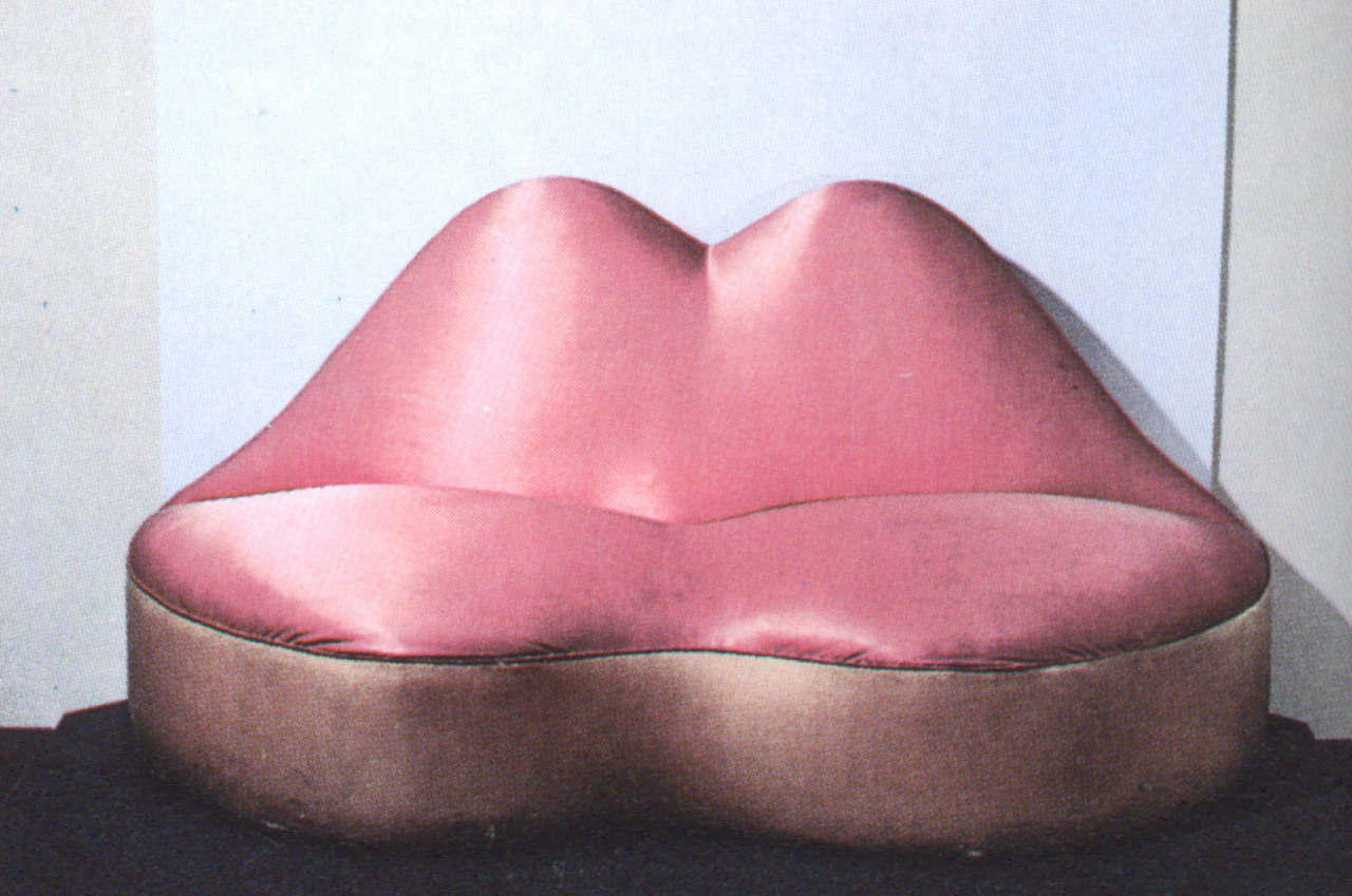 The mae west s lips sofa  1936 by salvador dali