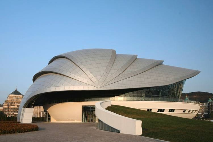 Dalian Shell Museum , The Design Institute of Civil Engineering & Architecture of DUT, China