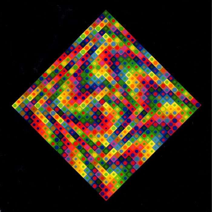 Victor vasarely  planetary folklore  two works