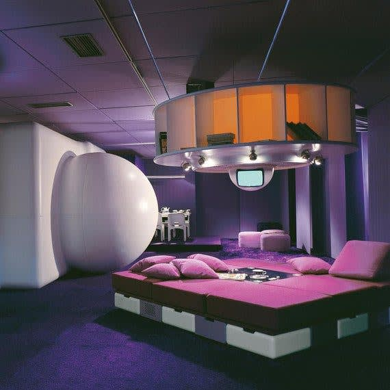 Joe colombo  living room of the future  1969