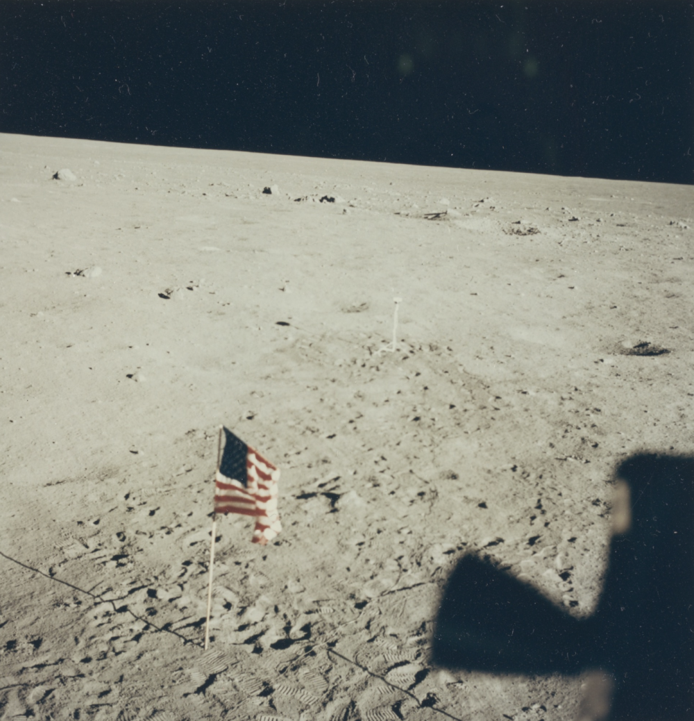 NASA, Untitled photograph from the Apollo 11 mission, July 20, 1969