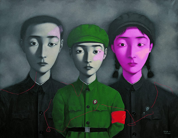 Zhang xiaogang  bloodline   big family no 3  1995