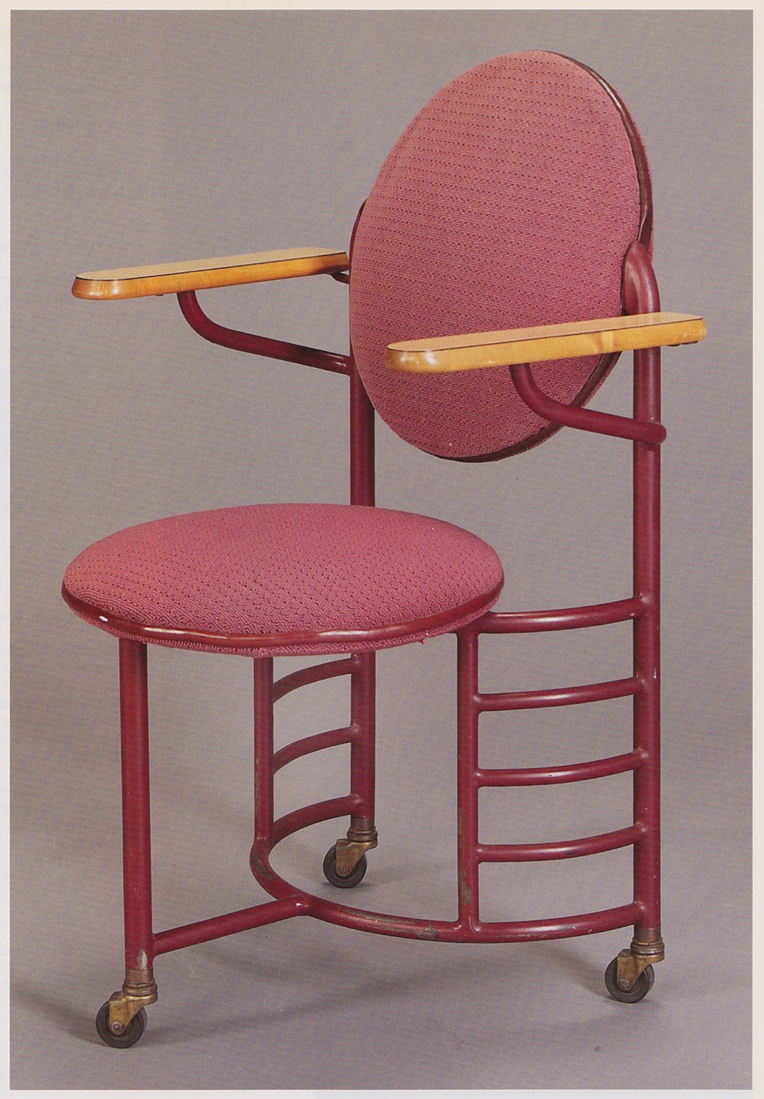 Frank lloyd wright  desk chair  1936 37