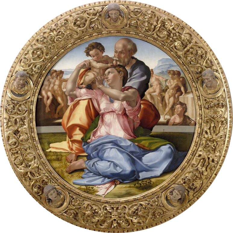 Michelangelo, The Doni Tondo, 1504-1506