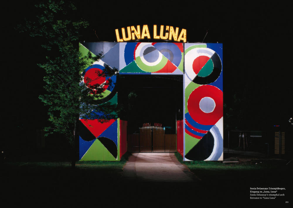 Sonia Delaunay, Entrance to Luna Luna