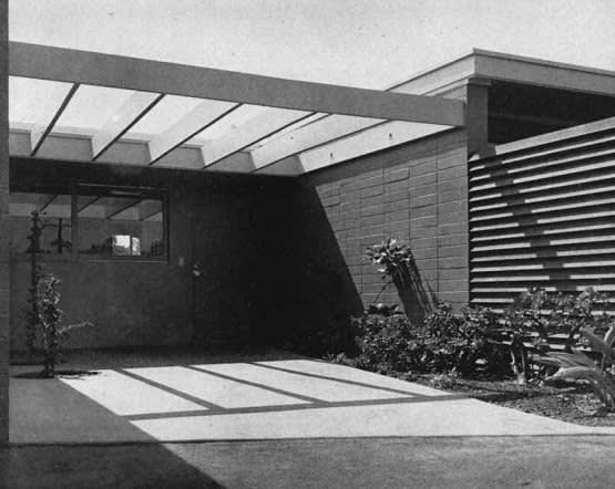 Thornton M. Abell, Case Study House No. 7, 1948