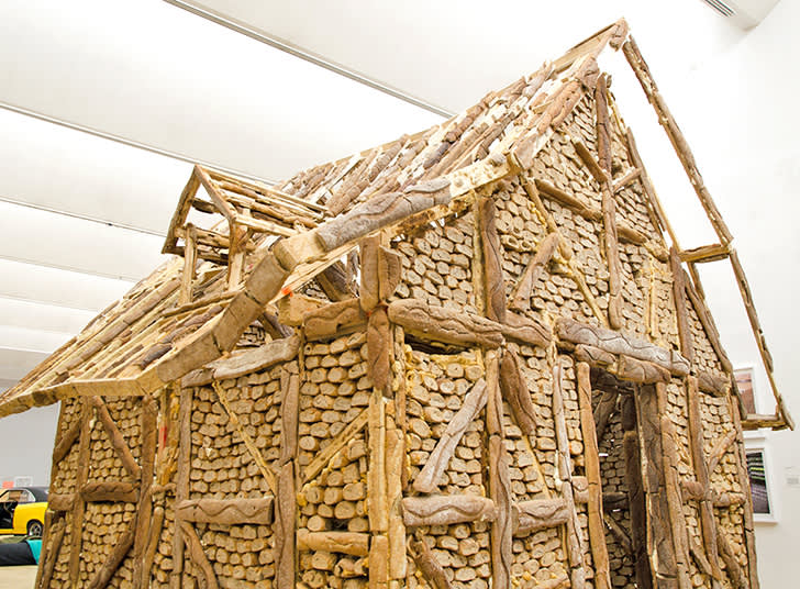 Urs Fischer , Bread House, Detail, 2004-06