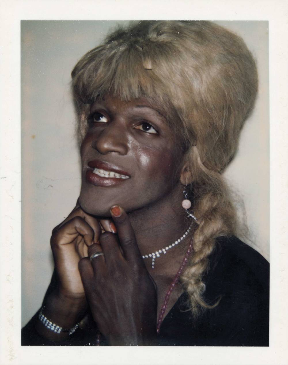 Andy Warhol, Polaroid of Marsha P. Johnson