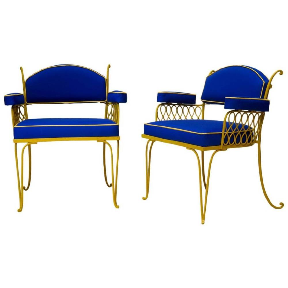 Ren   prou  set of chairs  1930 1940