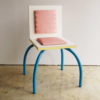 Michele de lucchi  early riviera chair  1981