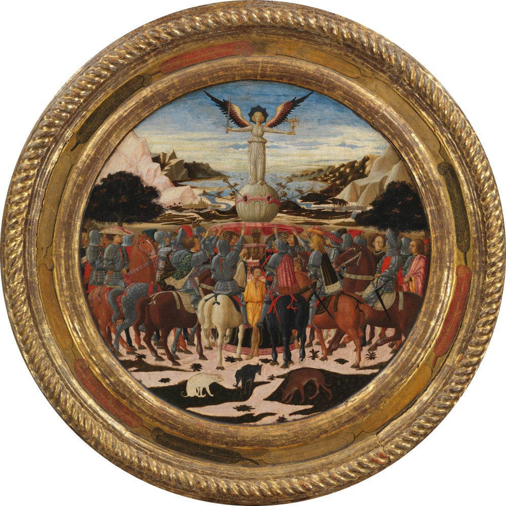 Lo Schema, The Triumph of Fame, ca. 1449