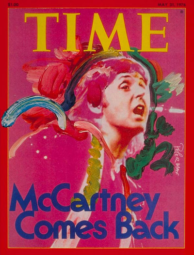 Time magazine cover paul mccartney may 31  1976