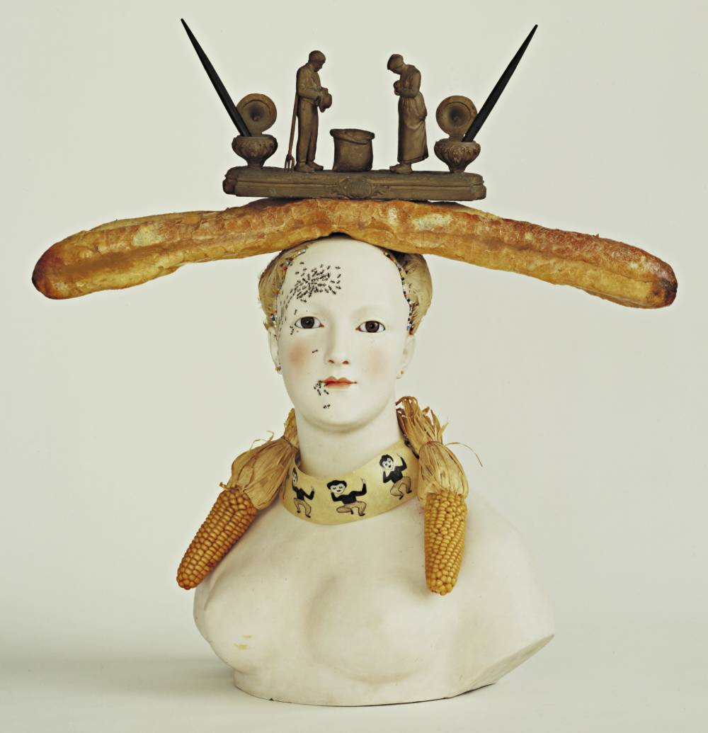 Salvador Dalí , Bust of a Woman, 1933