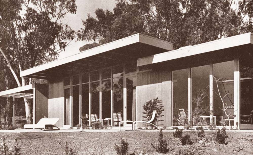 Rodney Walker , Case Study House No. 18, 1948