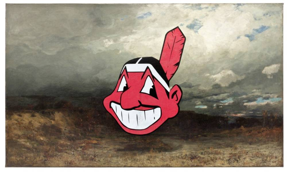 Cyprien gaillard  untitled  cleveland indian   2011