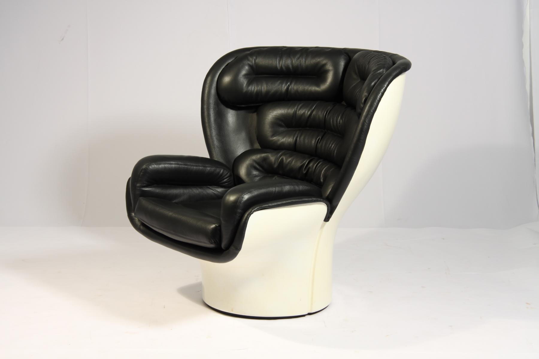 Elda chair by joe colombo for comfort  1963