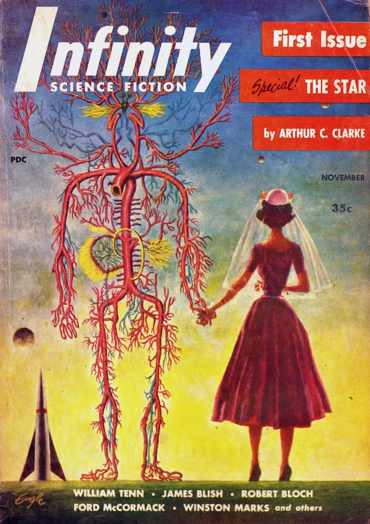 Infinity , Science Fiction Magazine, 1955