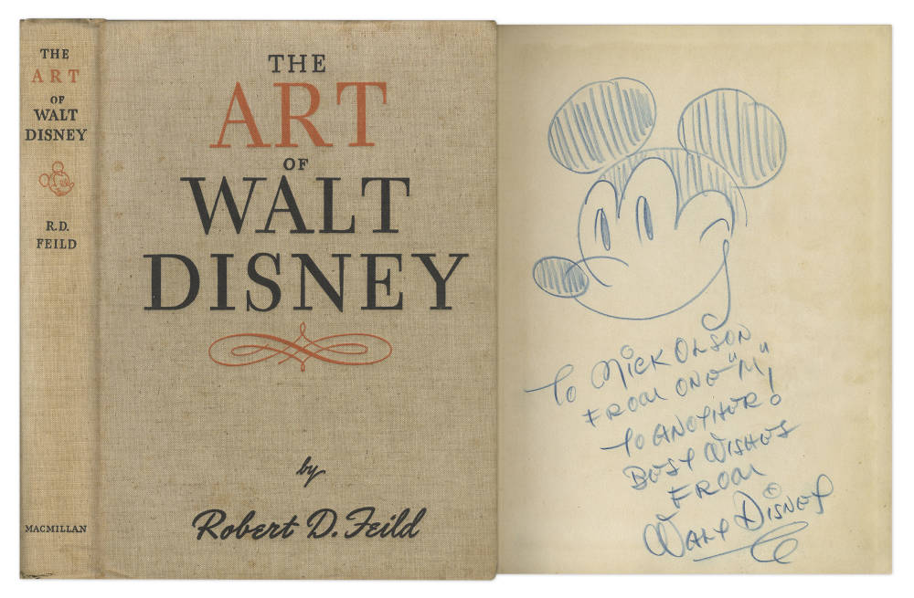 Robert D. Feild , The Art of Walt Disney