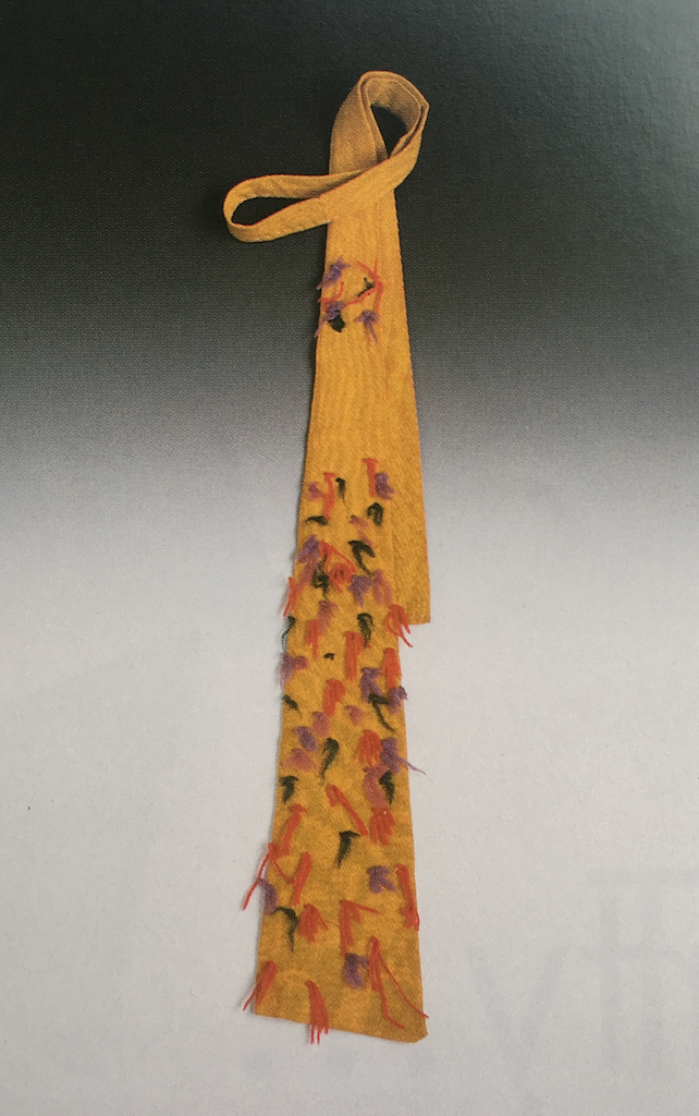 Tie made by calder for marcel duchamp  1940