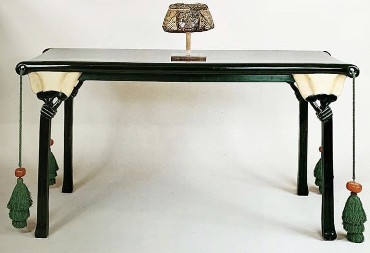 Eileen gray  lotus table  designed for jacques doucet  1913