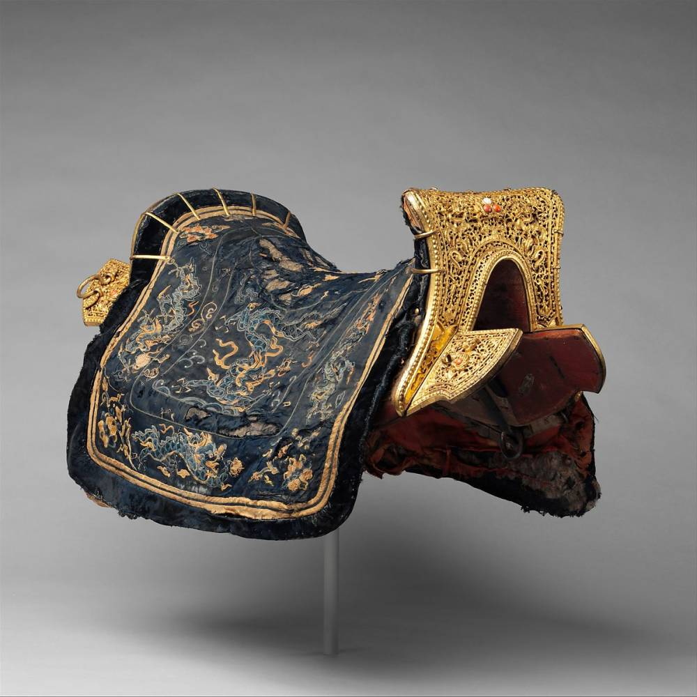 Saddle , Chinese, 17th-18th Century
