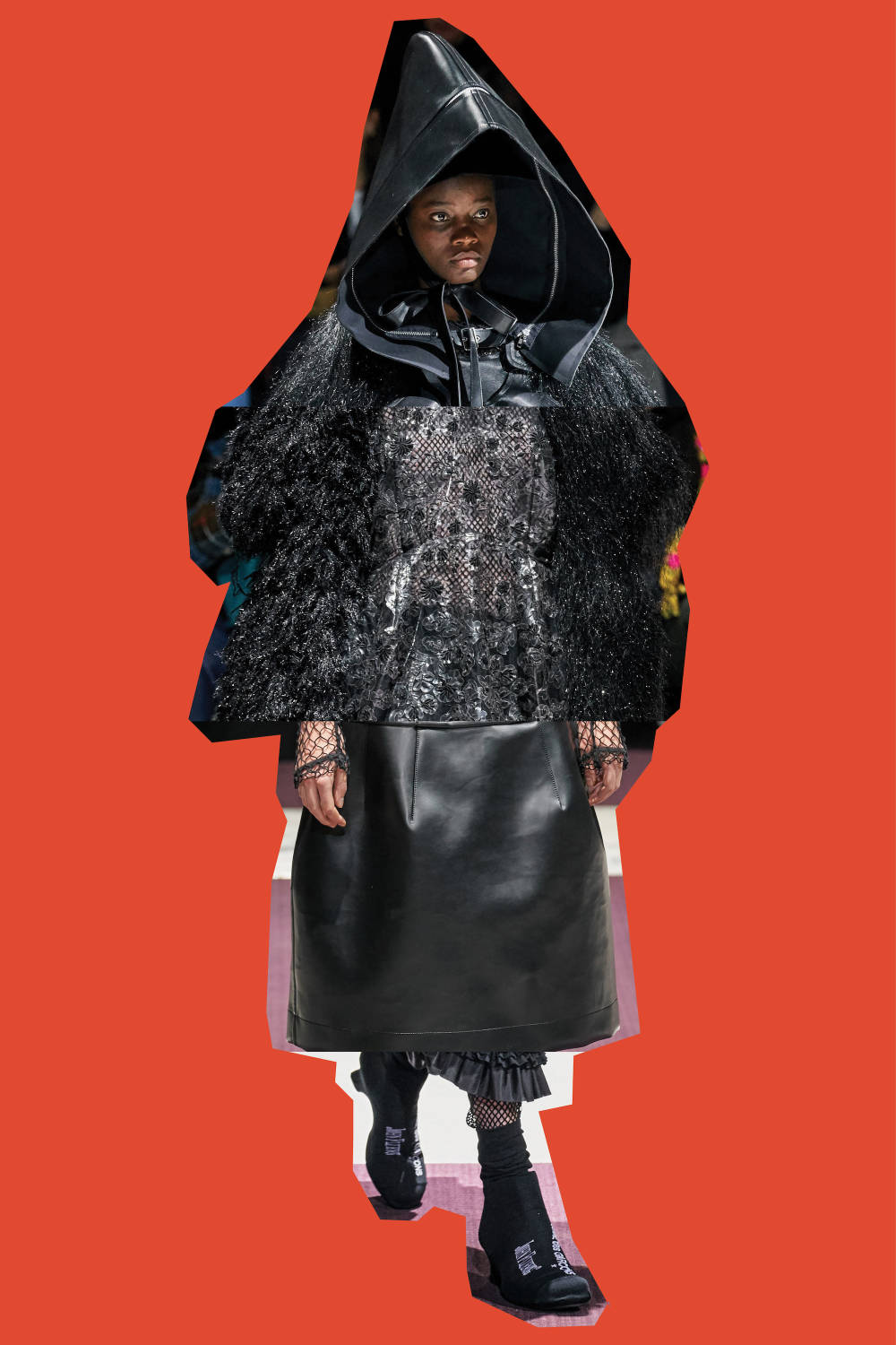 Comme des Garçons - Fall/Winter 2019, From Top: Look 9, Look 18, Look 3, Look 32