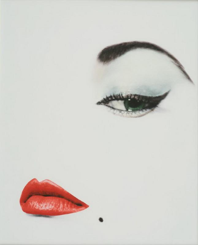 Erwin blumenfeld  jean patchett  vogue us cover  1950