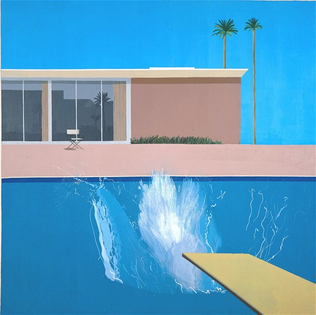 david hockney  a bigger splash   1967