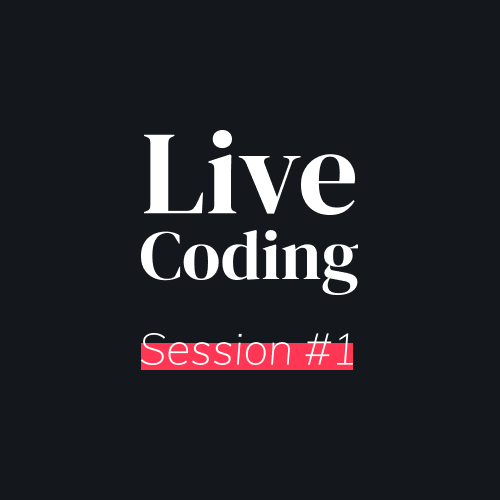 Miniature Live Coding Session 1