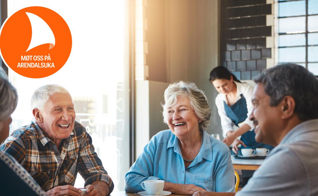 Hva skal til for å leve et godt liv alderdommen? Vi inviterer til samtale om gleder og utfordringer. (Foto: iStock)