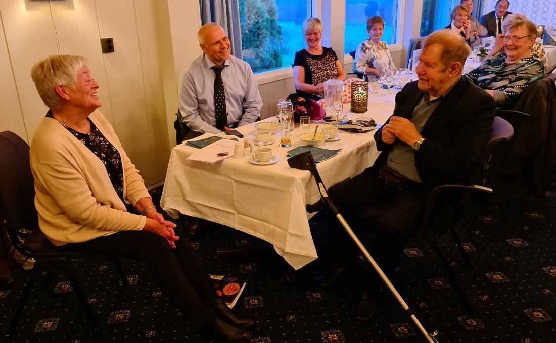 Glimt frå Lindås pensjonistlag si markeringa av Eldredagen 1. oktober 2020 på Westland Hotel.