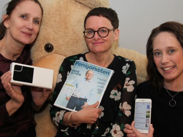 Ellen Myrland, Tone Bye og Ann-Kristin Johansen, regnet fra venstre, vil at bestillerne i kommune-Norge skal stille tydeligere krav til leverandørene om å levere komplette løsninger, og opplæring som en del av teknologien.