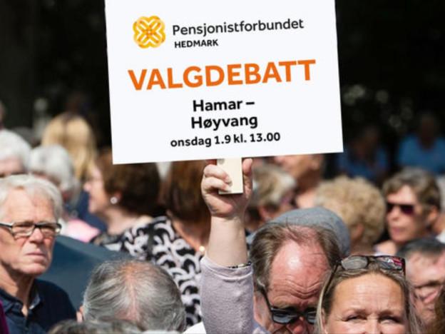 Forbundets møteserie har trukket fulle hus. Det blir nok folksomt på Høyvang også, men vi overholder smittevernreglene!