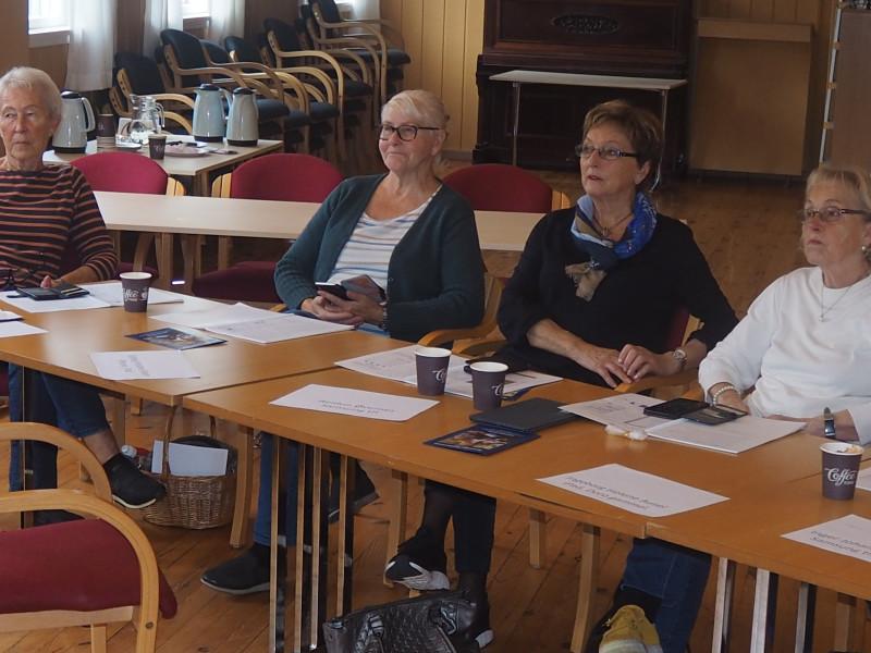 Deltakere; Solveig Halvorsen, Solveig Kristine Moen, Reidun Øvernes og Helga Albretsen.