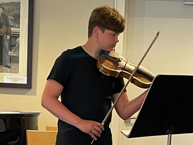 Anders Kvernvik imponerte med god musikk