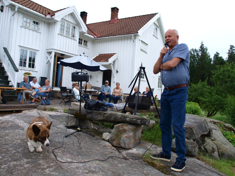 Ivar Langmyr ønsker velkommen.