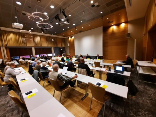 Årsmøtet ble avholdt på Radisson Blu Hotel i Tromsø