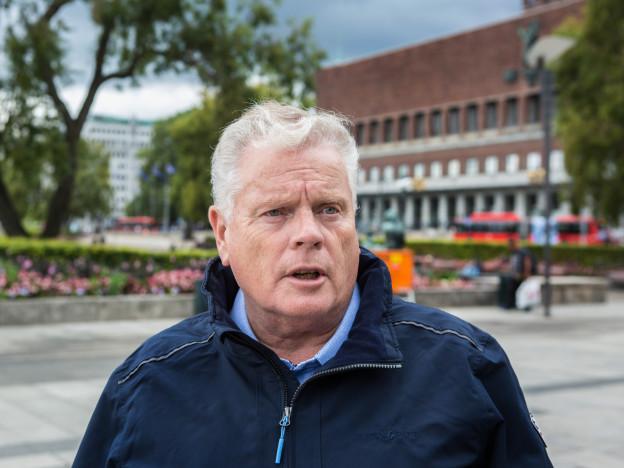 Forbundsleder Jan Davidsen  legger frem Pensjonistforbundet krav til trygdeoppgjøret. (Foto: Johnny Syversen)