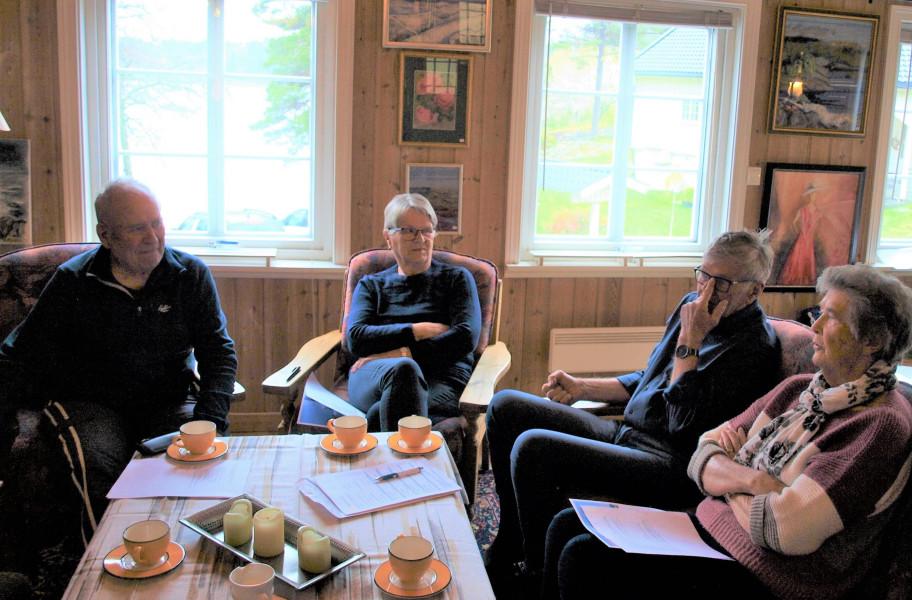 Anders Grændsen, Anne Lise Sundsdal, Torkell Erik Gledje og Ingeborg Helene Ausel