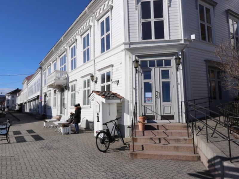 Våre lokaler i Torvet 1 (Foto: Lars Ole Røed)