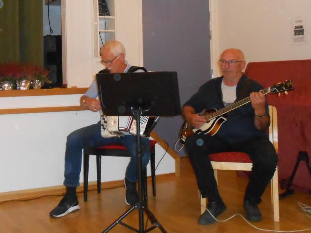 Lars Arne og Jostein Frostad