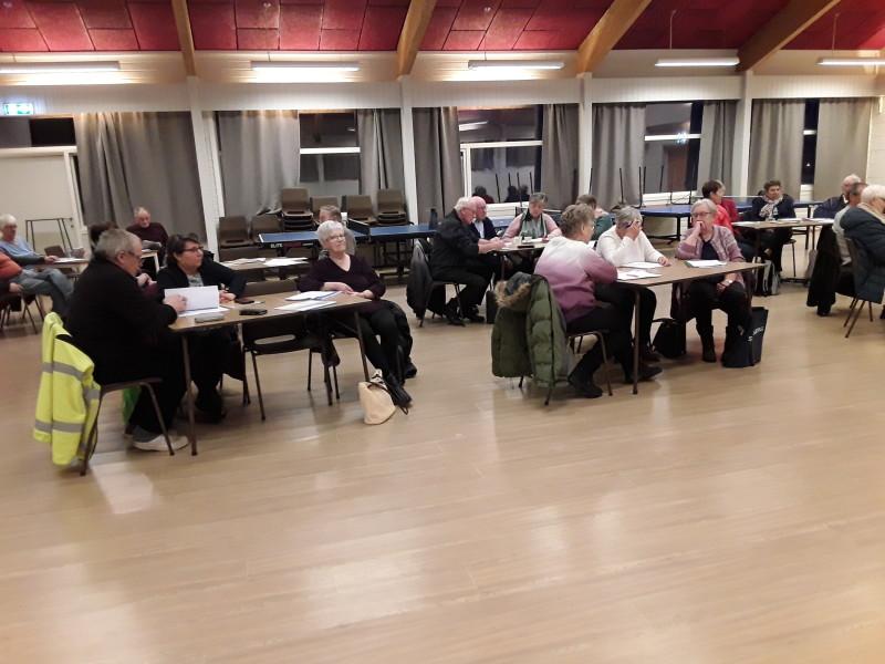 33 medlemmer samlet seg til årsmøte. Foto: Bjørn Pettersen