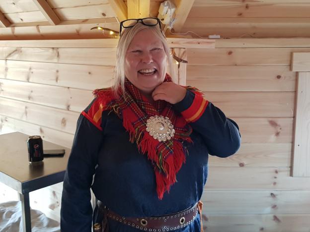 Dagens vert: Laila Inga.