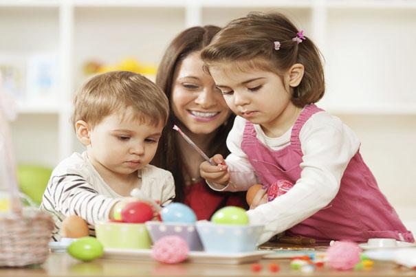 給學行寶寶的復活節小手工