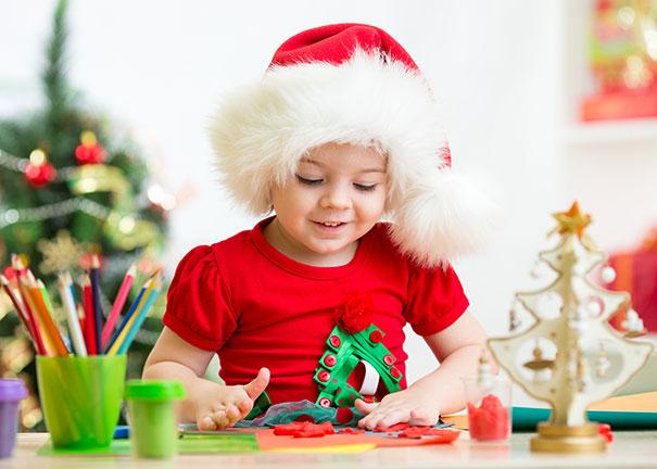 學行寶寶的聖誕手作