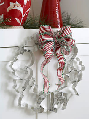 Pastry Cutter Christmas Wreath