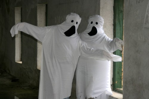 Sheet ghosts, the next best thing!