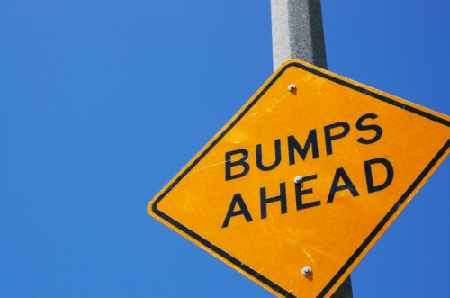 Beware of the bump!