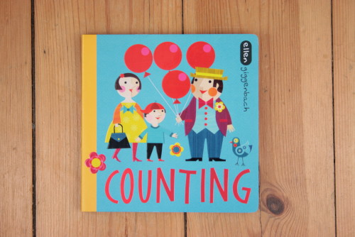 'Counting' - illustrated by Ellen Giggenbach
